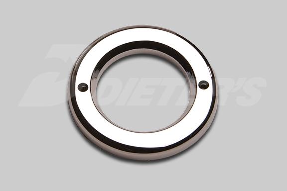 2.5″ Round Chromed Plastic Light Bezel image