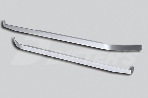Blank 58″ Sleeper Panel with Extenders for Underbody Exhaust image