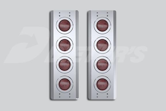 Rear Air Cleaner Light Bars – Incandescent Lights image