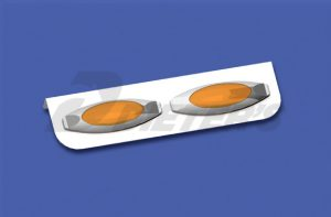 Freightliner Two-Bulb Oval Light Bar (DML DUA067X2A)