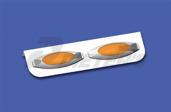 Freightliner Two-Bulb Oval Light Bar image