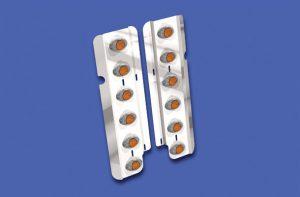 Front Air Cleaner Light Bars ABP FL155