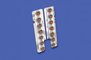Freightliner Classic Seven-Bulb Front Air Cleaner Light Bars (ABP FL258)