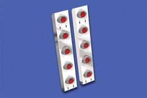Rear Air Cleaner Light Bars WBP WSC00124