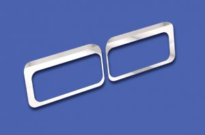 Headlight Mount Fender Guards (Set-Back Axle) WBP WSC05136
