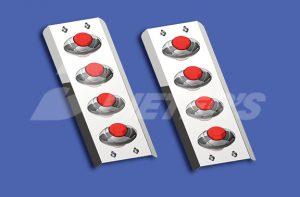 Rear Air Cleaner Light Bars WBP WSS254w