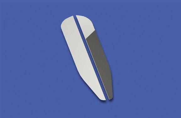 33″ Long Vertical Grille Deflectors image