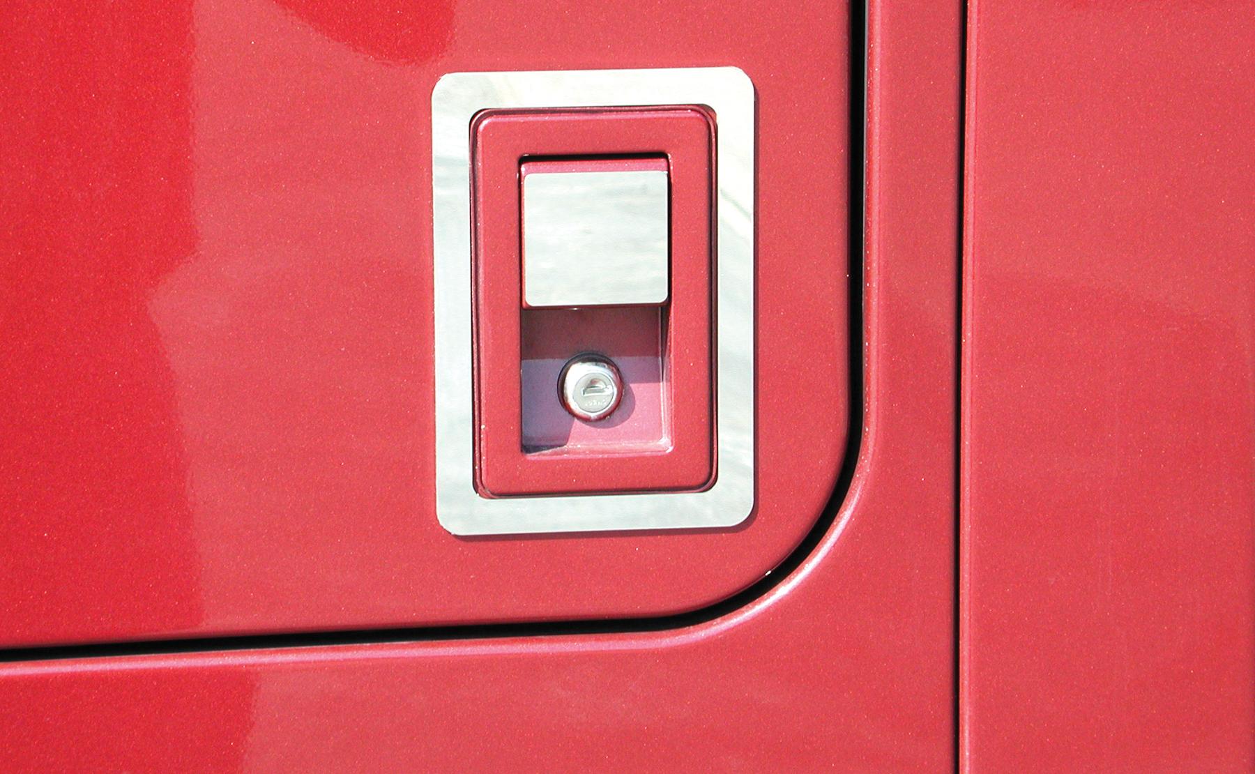 Bunk Access Door Handle Trim image