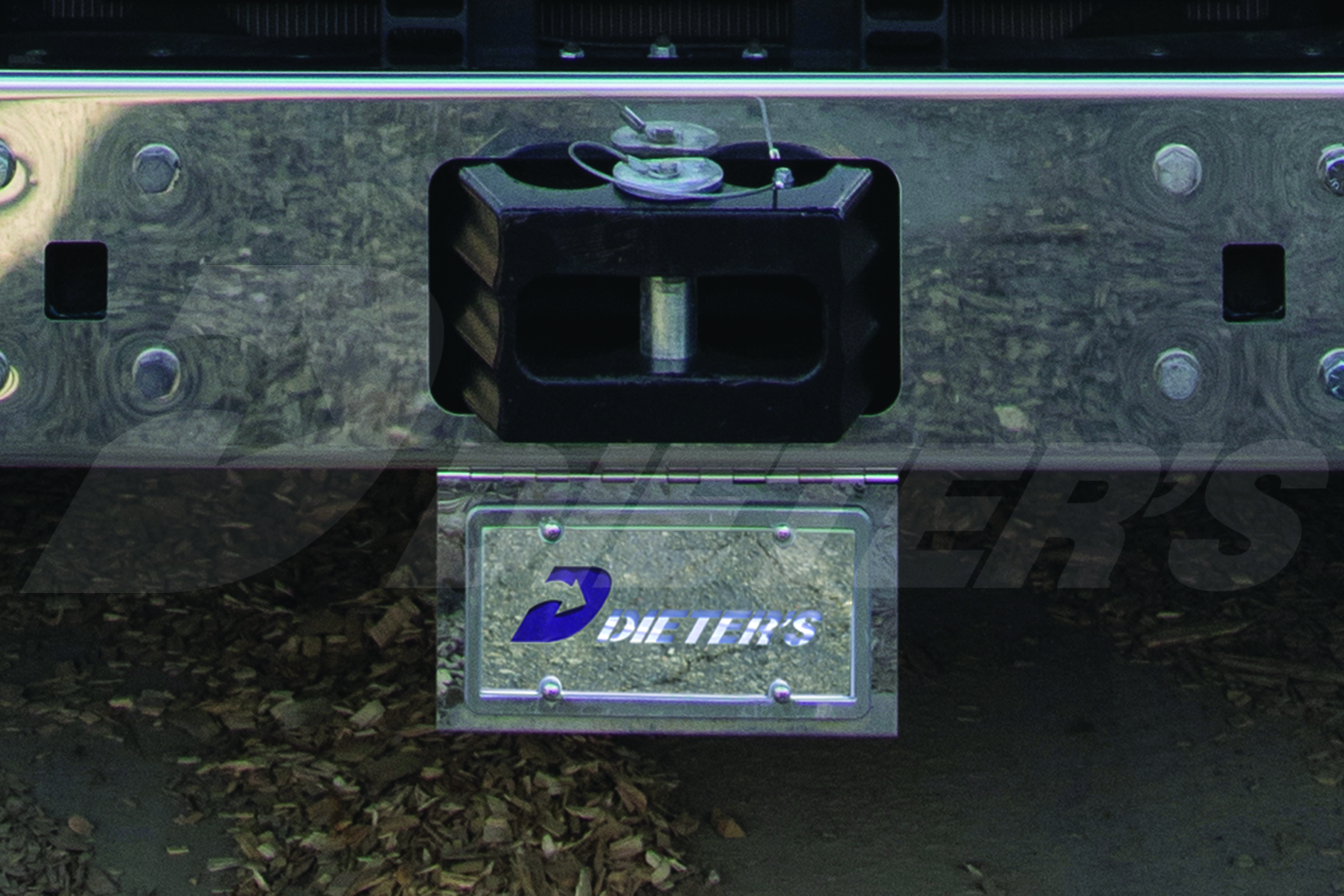 Under Bumper License Plate/Swing Plate image