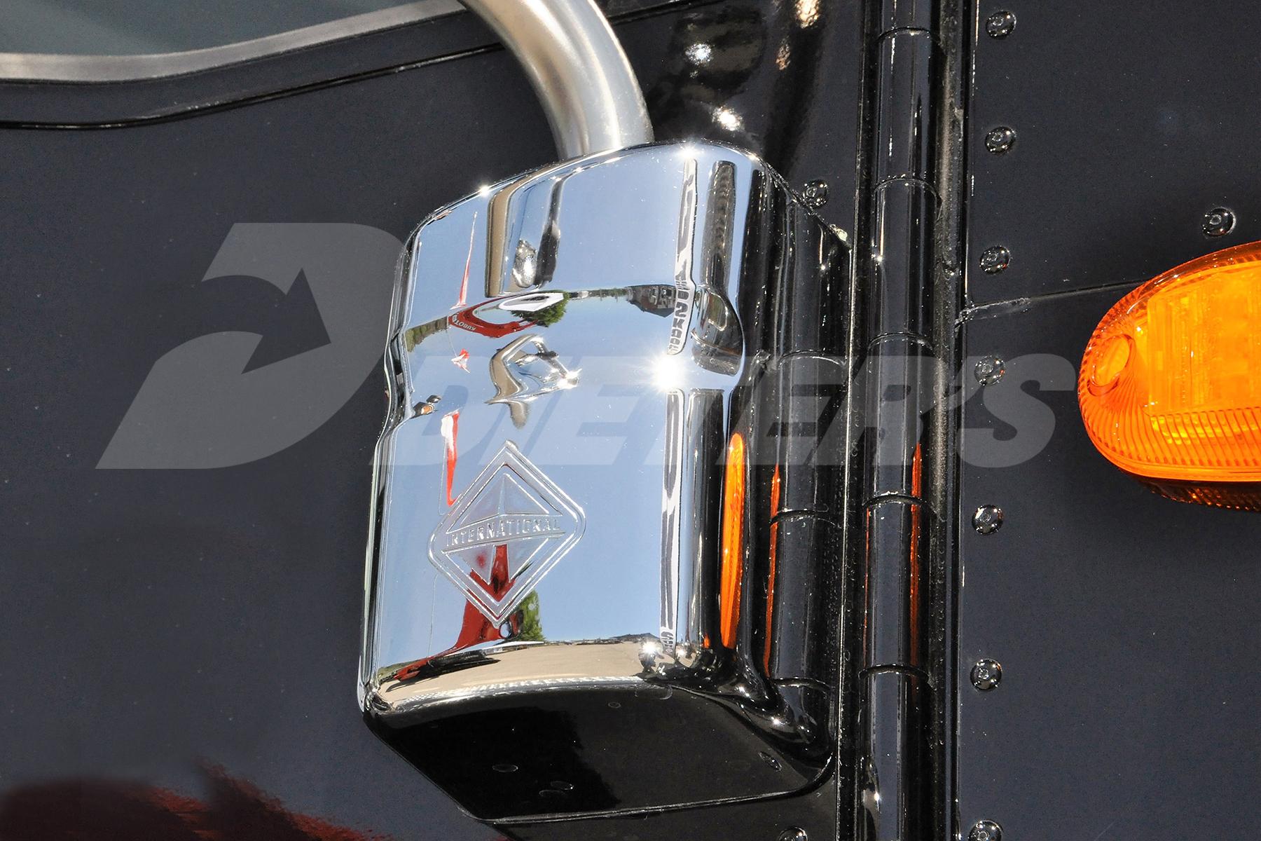 Chromed Lower Mirror Arm Bracket Cover image