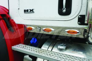 Cab Skirts – HX615 with Dual Exhaust DN2350
