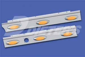 Cab Skirts – HX620 with Dual Exhaust DN2341
