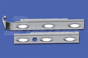 Cab Skirts – HX615 with Dual Exhaust DN2349