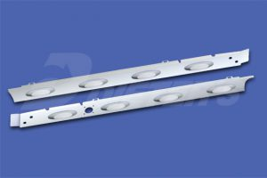 Cab Skirts – HX520 With Dual Exhaust DN2390