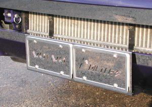 License Plate Holders 85104863 (DVO 115 CDN)