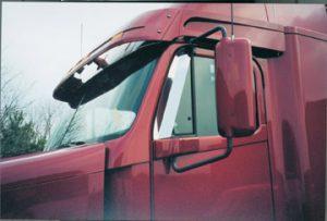 Freightliner Door Window Deflector (Columbia, Century Class, and pre-2010 Coronado models only) - ABP FL024A