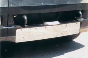 Pre-2005 Freightliner Century Class License Plate Insert (ABP FL061)