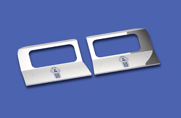 W900L Headlight Surround Fender Guards image