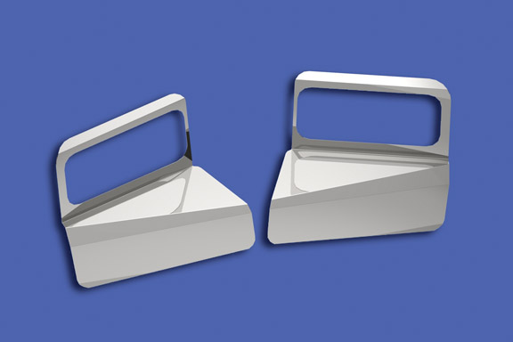 T800 Standard Cab Headlight Surround Fender Guards image