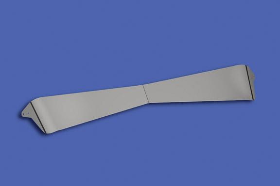 Boltless Bowtie Curved Glass Sunvisor image