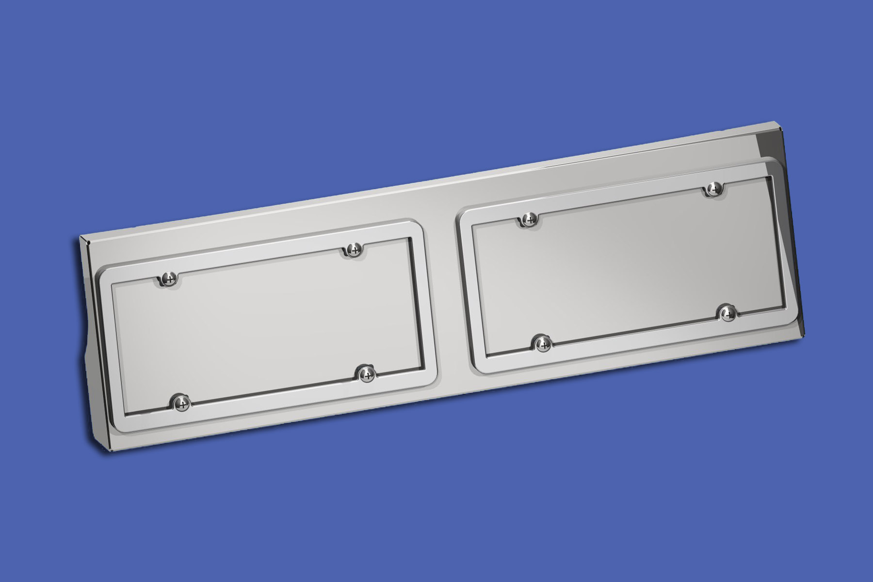 T680 Double License Plate Holder image
