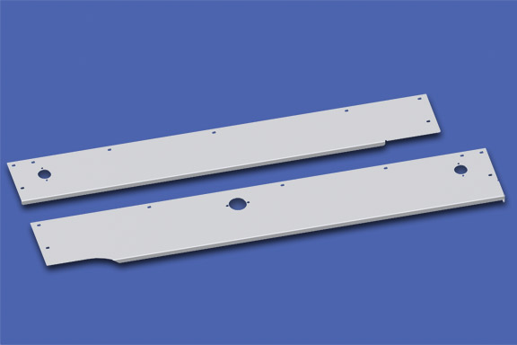 Plain Cab Skirts for T800 Split Fender image