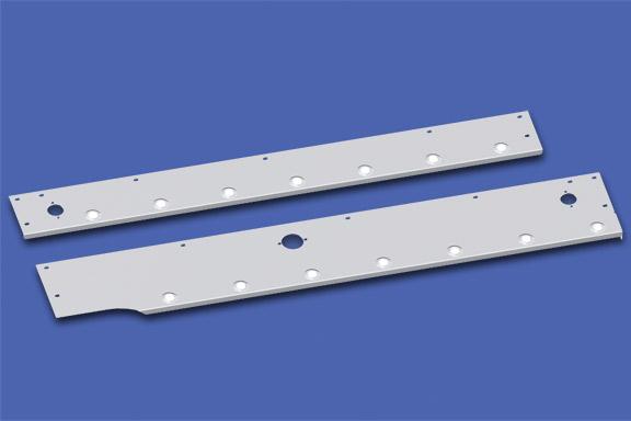 Split Fender Cab Skirts for ISX Engine Models image