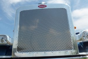 Front Grille With Peterbilt Ovals MD8369