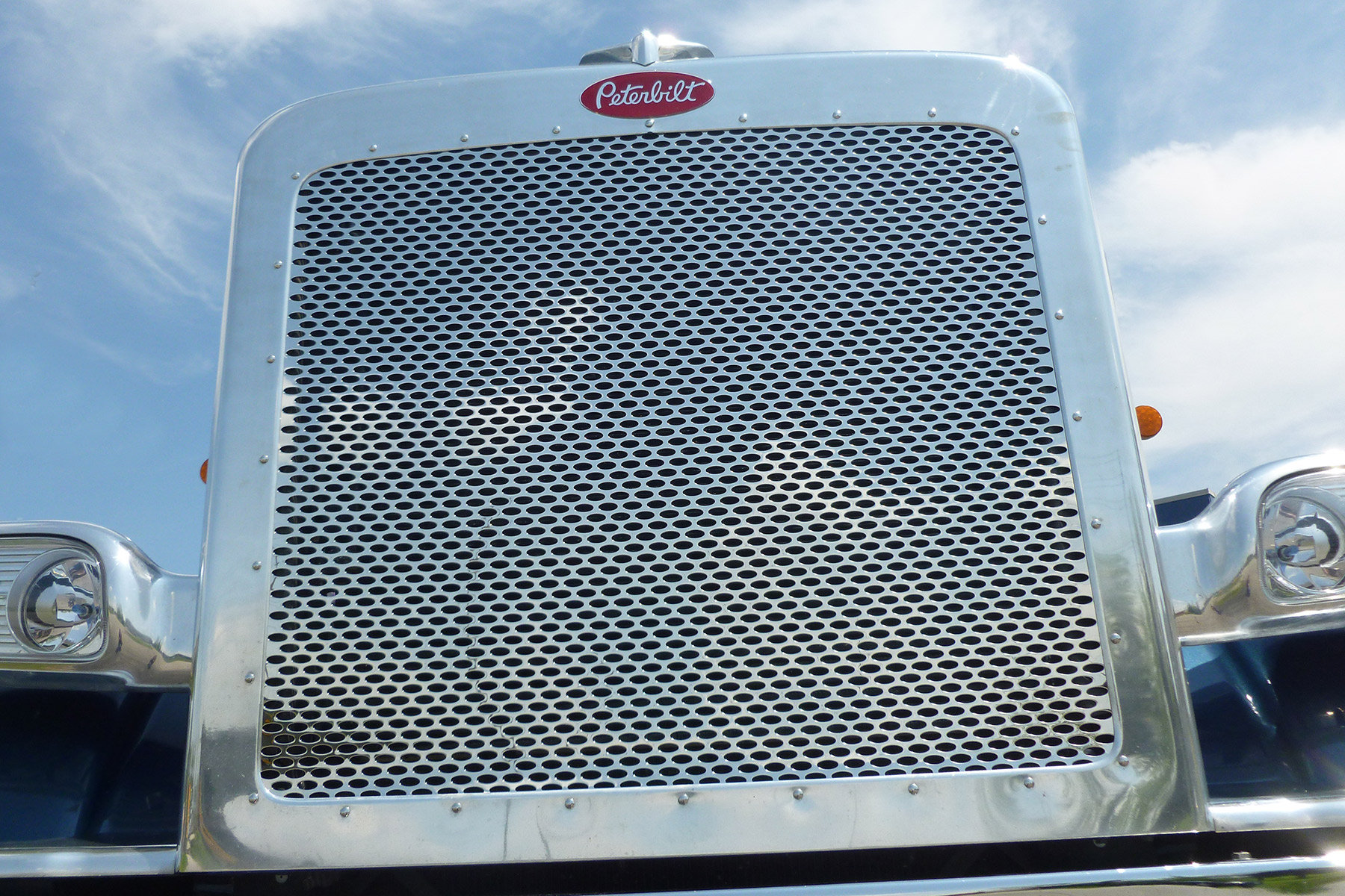 Front Grille With Peterbilt Ovals image