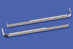 58″ Sleeper Panels with Extenders For Dual Cab Exhaust MD8427