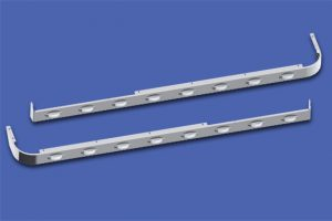 58″ Sleeper Panels with Extenders For Dual Cab Exhaust MD8428