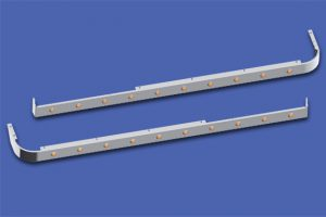 58″ Sleeper Panels with Extenders For Dual Cab Exhaust MD8429