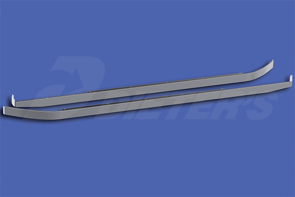 72″ Sleeper Skirts with Extenders for Underbody Exhaust image