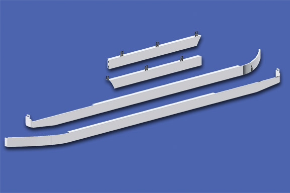 Cab/72″ Sleeper/Extender Kit – 579 117″ BBC with Underbody Exhaust image