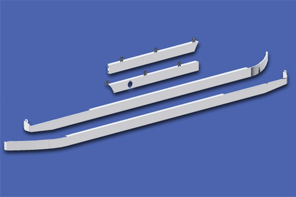 Cab/80″ Sleeper/Extender Kit – 579 117″ BBC with Underbody Exhaust image
