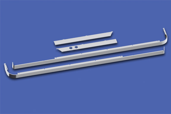 Cab/80″ Sleeper/Extender Kit – 579 117″ BBC with Cab Exhaust image