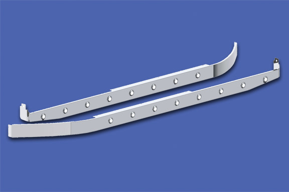 44″ Sleeper Skirts With Extenders for Underbody Exhaust image