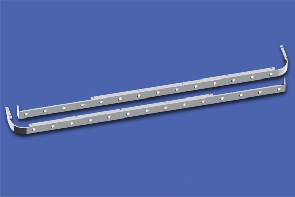 80″ Sleeper Skirts With Extenders For Cab Mount Exhaust image