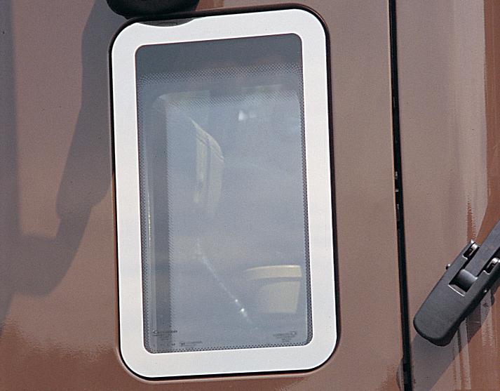 Granite Passenger Door Window Trim image