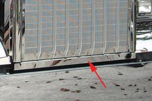 Grille/Bumper Filler Panel MD1510