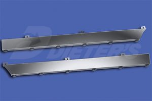 Underbody Exhaust Cab Skirts MD8584