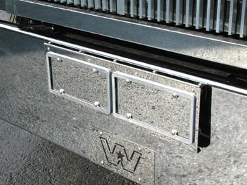 Bumper Face License Plate Holder image
