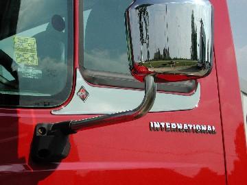 Door Window Accent Trim with Logo image