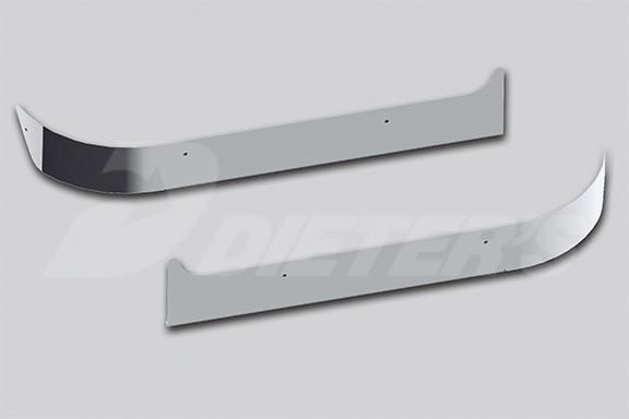 Under Headlight Fender Guards – Pinnacle Set-Forward Axle image