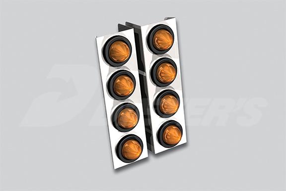 W900 Air Cleaner Light Bar image