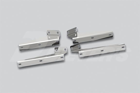 Ultracab Sloped/Extended Sunvisor Bracket Kit image