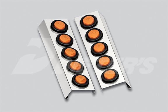 W900B Donaldson Air Cleaner Front Center Light Bar image