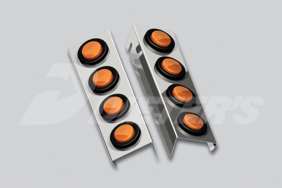 Farr Air Cleaner Front Light Bar image