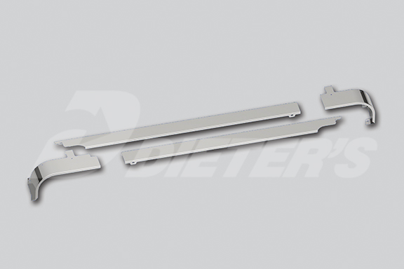 Cab Skirts – Set-Back Axle Extended DayCab Dual Exhaust image