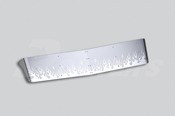 Curved Glass Drop Style Sunvisor image